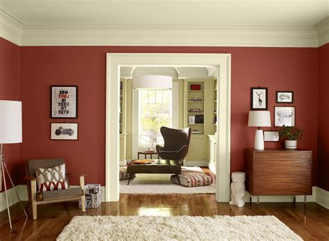 Designing With Two Colors paints for living room walls