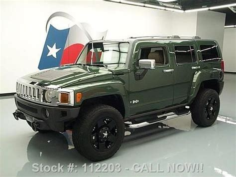 2006 Hummer H3 Roof Rack buy used 2006 hummer h3 4x4 sunroof htd leather roof rack 45k mi direct auto in stafford