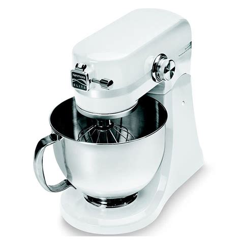 Mixer W Bowl Signora kenmore elite 216901 w 5 quart 400 watt stand mixer