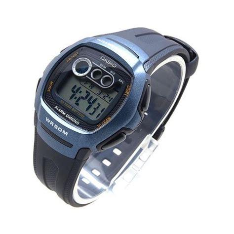 orologi uomo casio casio orologio polso uomo illuminator w 210 1bvdf gomma
