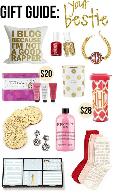 Top 7 Gifts For Your Bff by Southern Curls Pearls Gift Guide Your Best Friend