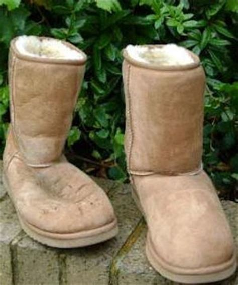 how to clean water and snow marks on your ugg boots or