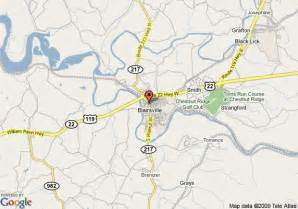 map of hton inn suites blairsville blairsville