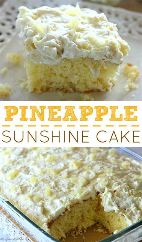 pineapple cake using yellow cake mix yellow cake with pineapple topping
