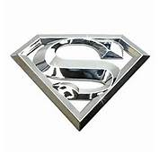 Amazoncom 3D Superman Chrome ABS Plastic Car Emblem DC Official