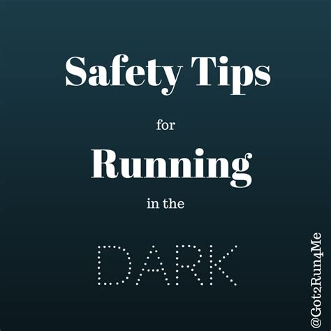 9 running safety tips for five safety tips for running in the got2run4me