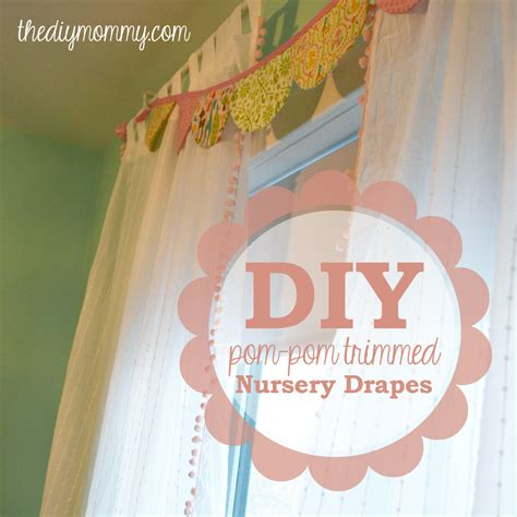 how to make nursery curtains make boutique nursery drapes with pre made curtains and