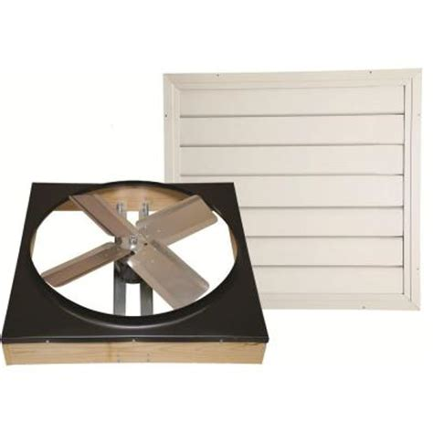 cool attic 24 in direct drive whole house fan with