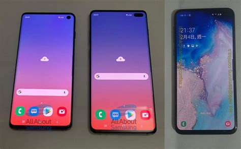 Samsung Galaxy S10 And S10e by Samsung Galaxy S10 Everything To Expect At Unpacked 2019 9to5google