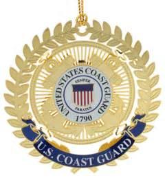 Coast Guard Home Decor Us Coast Guard Logo Ornament Traditional Christmas