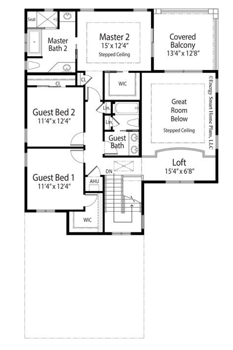 smart house plans the carlyle house plan by energy smart home plans