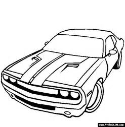Dodge Challenger Coloring Page Only Coloring Pages » Home Design 2017