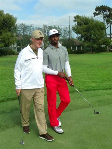 Chris Golf by Chris Paul And Bill Clinton Hit The Links Together