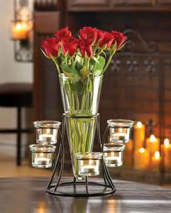 unique wedding vase candle holder centerpiece