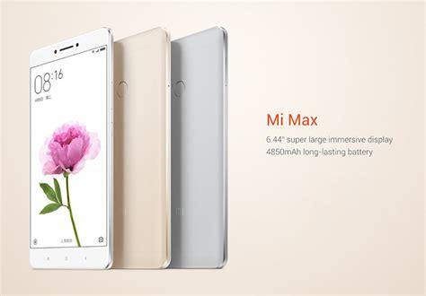 Chas Xiaomi Mi Max xiaomi mi max 6 44 inch 3gb ram 32gb rom snapdragon 650 hexa smartphone sale banggood
