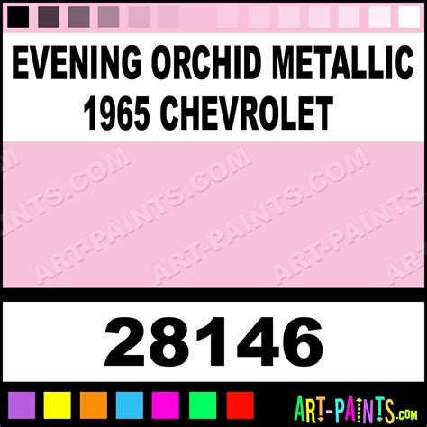 evening orchid metallic 1965 chevrolet model master metal paints and metallic paints 28146