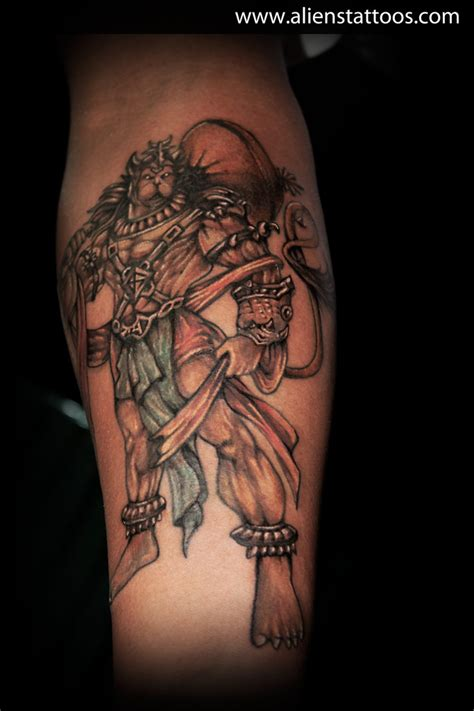 hanuman tattoo mythological tattoos archives aliens the best