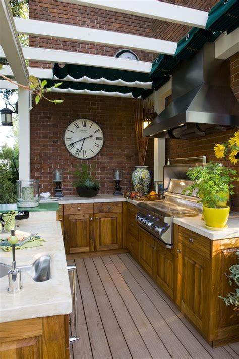 25 amazing outdoor kitchens outdoor spaces pinterest
