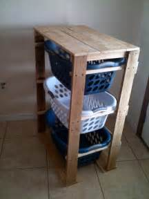 White Laundry Hers White Pallet Laundry Basket Dresser By Pallirondack Diy Projects