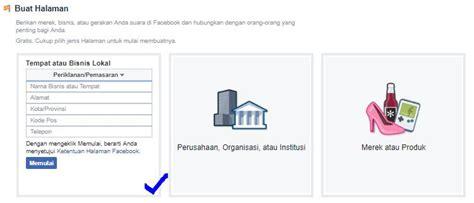 cara membuat akun facebook privat form page pendaftaran facebook carapedi indonesia