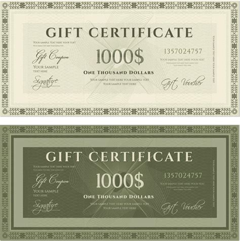 shopping spree certificate template sle wordings for gift certificates you ll want to copy now
