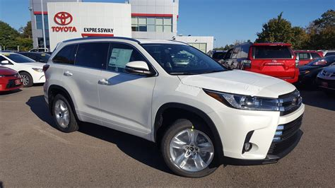 limited toyota 2018 toyota highlander limited sport utility in boston