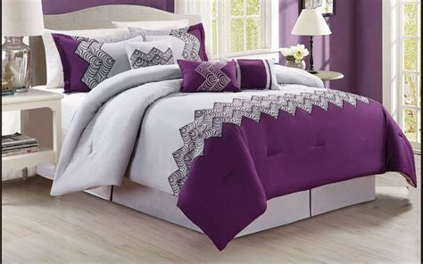 grey and purple comforter sets 25 best ideas about purple and grey bedding on pinterest