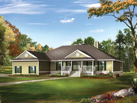 country ranch homes farm pond country ranch home plan 081d 0041 house plans