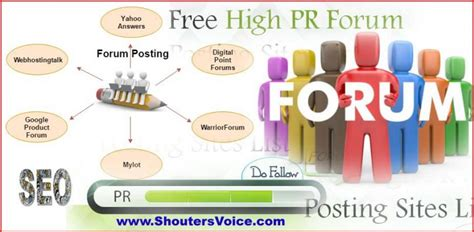 Make Money Online Forum List - top 50 forum posting sites list for increase backlinks