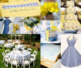 Decorating Ideas Yellow And Blue Cornflower Blue Wedding Decorations Decoration