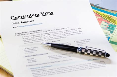 Cv Writing Format by Curriculum Vitae Cv Format