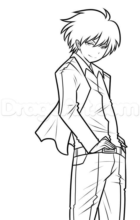 draw diagram draw karma akabane step by step anime characters anime