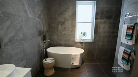 The Block Bathrooms 2013 the block 2013 dan dani bathroom the block 2017