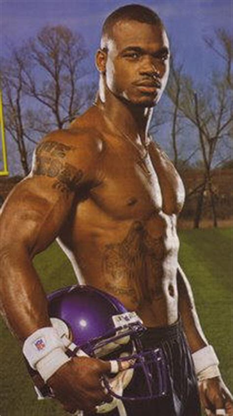 adrian peterson tattoos adrian peterson s tattoos make him look diesel