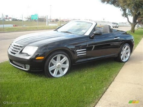 2005 black chrysler crossfire limited roadster 22696687 gtcarlot car color galleries