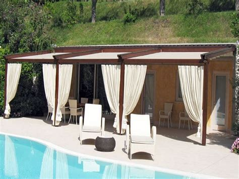 verande da esterno tendaggi per esterni tende per portico gazebo pergolati