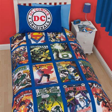 Dc Comics Bedding by Dc Comics Originals Blue Superman Boys Single Duvet Quilt
