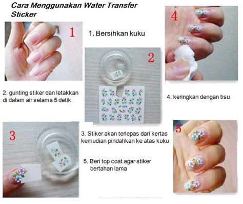 Stiker Kuku Water Transfer Nail Sticker 7 jual beli frozen water decal transfer nail