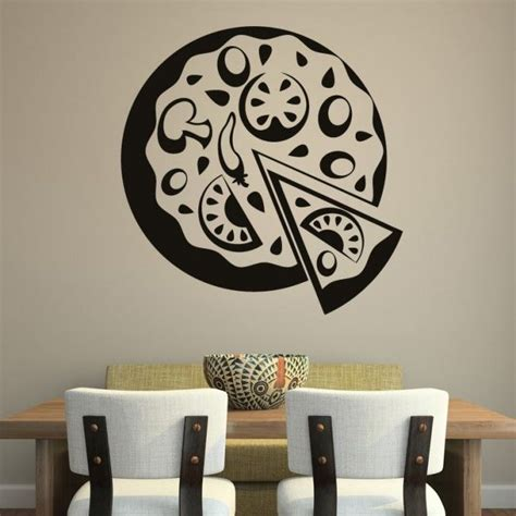 food wall stickers pizza decor food cafe wall sticker http walliv pizza decor food cafe wall sticker decal
