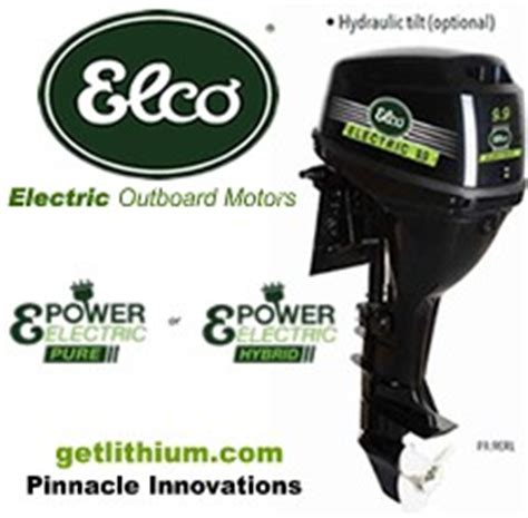 elco marine electric motors lithionics lithium ion batteries photo gallery for