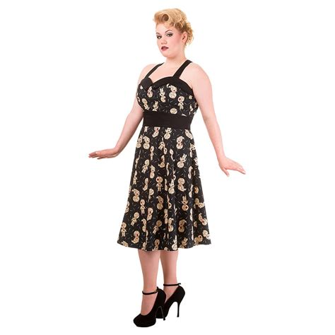 black doll banned banned distractions voodoo dolls plus size dress