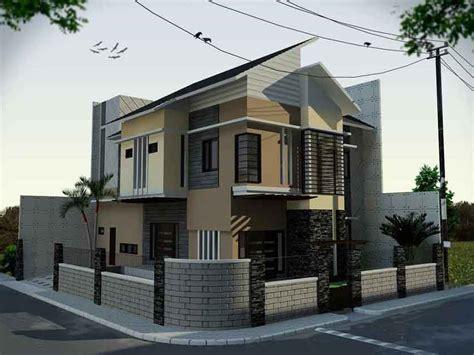 contoh desain rumah minimalis modern 2 lantai terbaru 2016 desain rumah perumahan