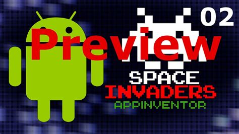 construct 2 space invaders tutorial space invaders app inventor 2 tutorial part 02 preview