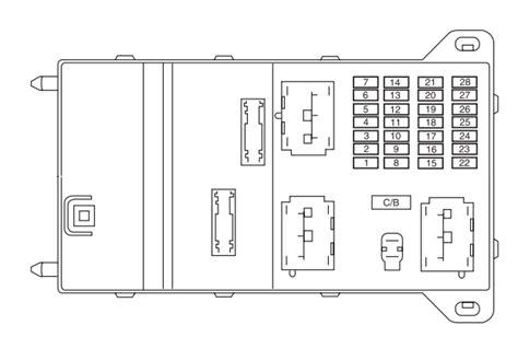 lincoln fuse box diagram wiring schematic free
