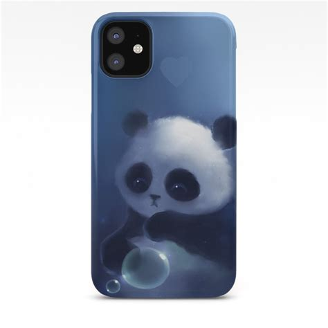 panda iphone case  apofiss society