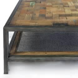 Table Basse Bois Vintage #1: Table-basse-industrielle-atelier-fer-et-bois-de-bateau-recycle.jpg