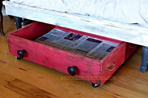 under bench storage drawer turned shoe storage
