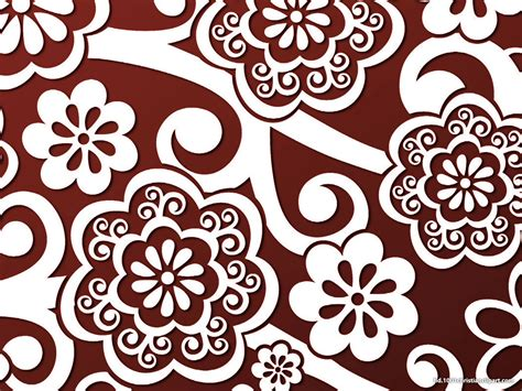 batik pattern graphic make your presentation stunning with the batik background