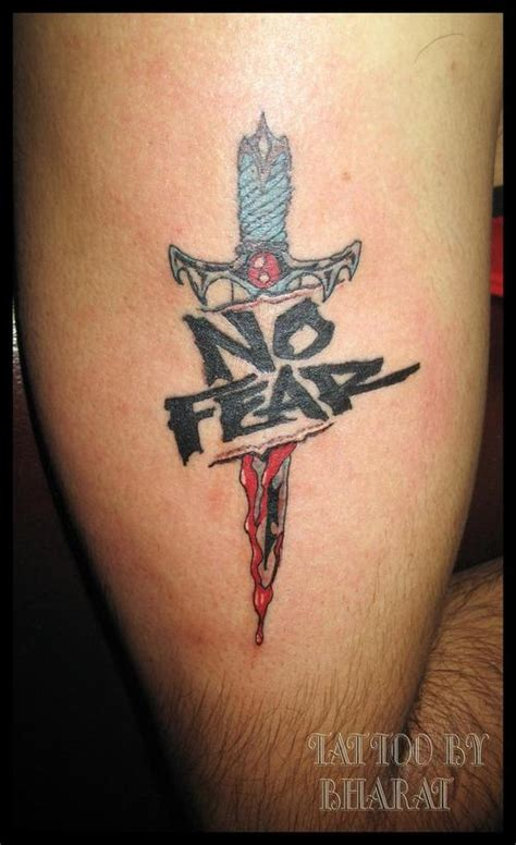 fear god tattoo designs no fear quotes quotesgram