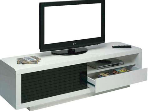 canapé noir et blanc conforama meuble tv blanc laque conforama solutions pour la
